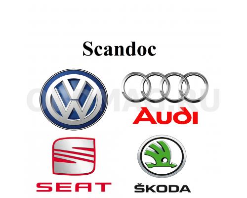 Пакет марок VW, Audi, Seat, Skoda для Scandoc