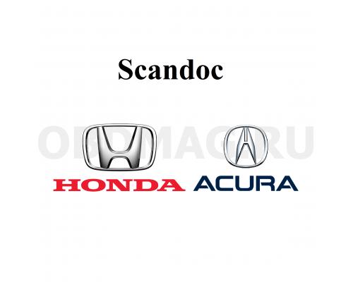 Программный модуль Acura, Honda для Scandoc