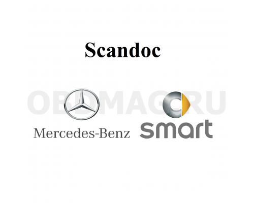 Программный модуль Mercedes, SMART для Scandoc