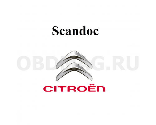 Программный модуль Citroen для Scandoc