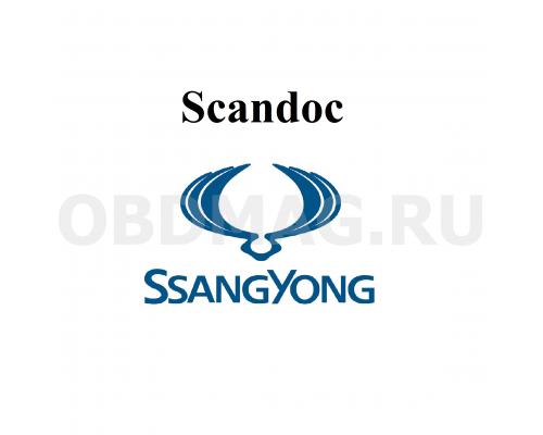 Пакет марок Ssang-Yong для Scandoc