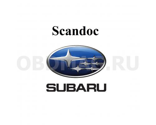 Пакет марок Subaru для Scandoc