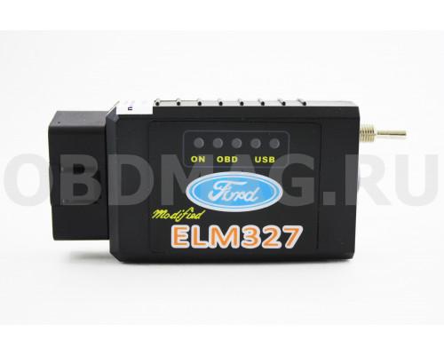 ELM 327 Ford с переключателем HS + MS Bluetooth