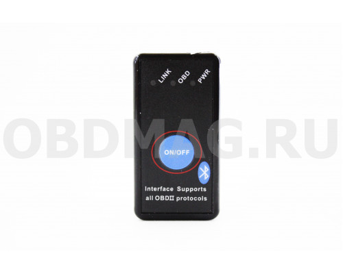 ELM327 Bluetooth с кнопкой вкл/выкл