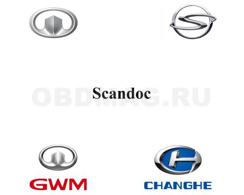 Пакет марок GWM, Changhe, FDQD, Shuanghuan для Scandoc