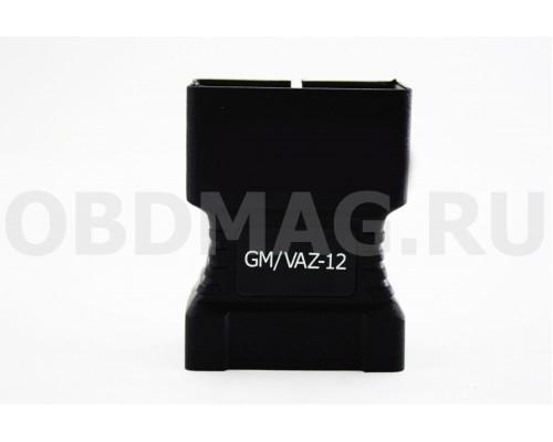 Переходник ВАЗ / GM / Daewoo 12 pin для Сканматик