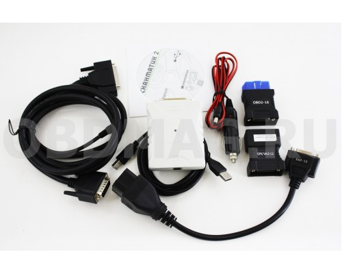 Сканматик 2 Bluetooth + Переходники GM/ВАЗ 12p / ГАЗ 12p