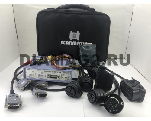 DSGPROG Сканматик 2 PRO + PCMFlash 58 модуль + комплект кабелей DSG (CVT) + Powerbox combibox