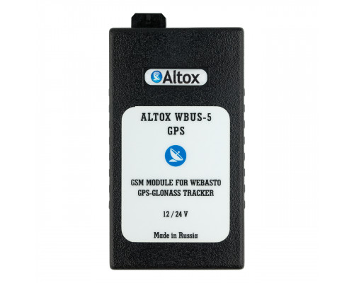GSM + GPS модуль для управления отопителями Webasto