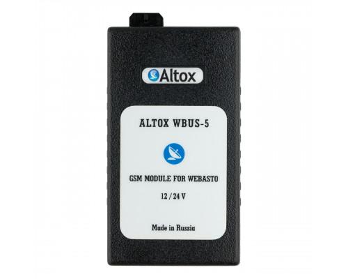 GSM модуль для управления отопителями Webasto