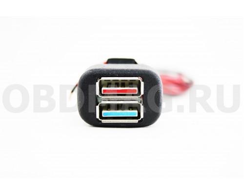 USB зарядка в штатное место LADA Нива, Kalina, Samara, 110 европанель