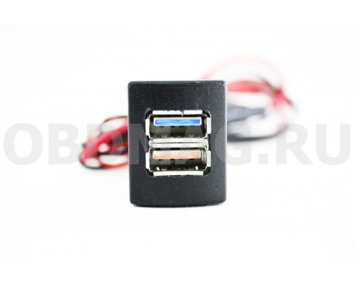 USB зарядка в штатное место LADA Granta, Kalina-2, Priora