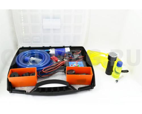 Дымогенератор G-Smoke ПОЛНЫЙ 12 пробок + УФ фонарь + очки + УФ Жидкость