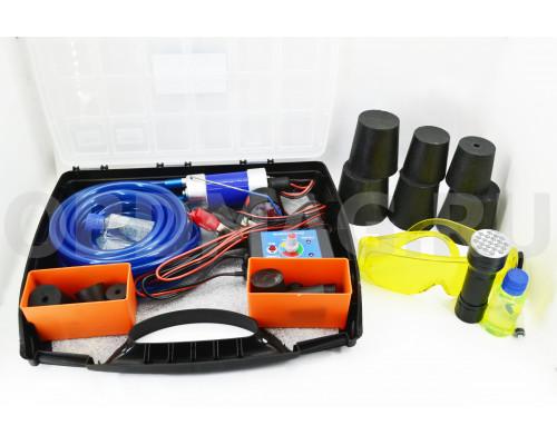 Дымогенератор G-Smoke МАКСИМАЛЬНЫЙ 18 пробок + УФ фонарь + очки + УФ Жидкость
