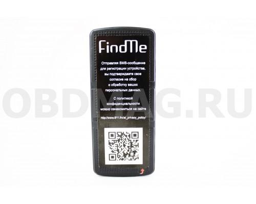 FindMe F2 GPS / ГЛОНАСС трекер - маяк