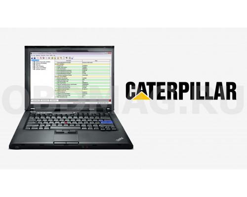 Ноутбук с программой Cat ET - Caterpillar Electronic Technician 2018С