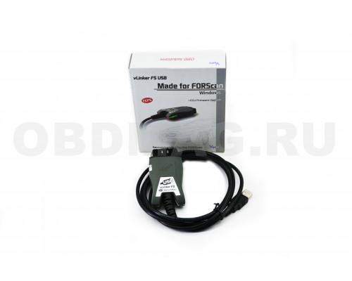 Vgate vLinker FS ELM327 для Ford FORScan HS/MS-CAN