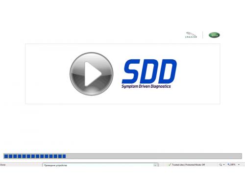 Активация JLR SDD Online + обновления 1 год