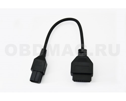 Переходник для мотоцикла Husqvarna 6 pin  449 / 511/ 610 / 630 / CCM 450 и более