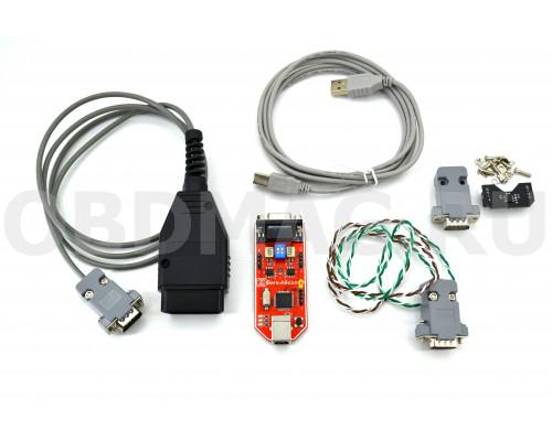 CAN-Hacker 3.2 USB + Опция LIN + OBD2 кабель полный набор