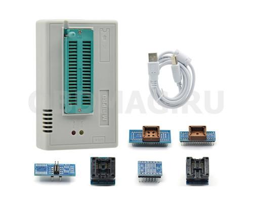 Программатор MiniPro TL866 II PLUS с набором адаптеров