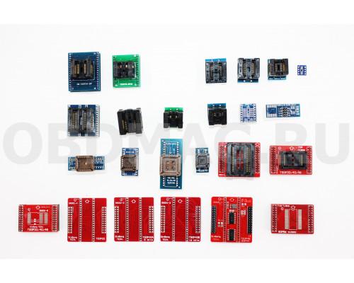 Комплект адаптеров для MiniPro TL866 A/CS
