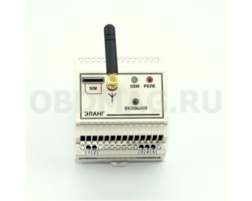 Эланг GSM-реле с дистанционным управлением