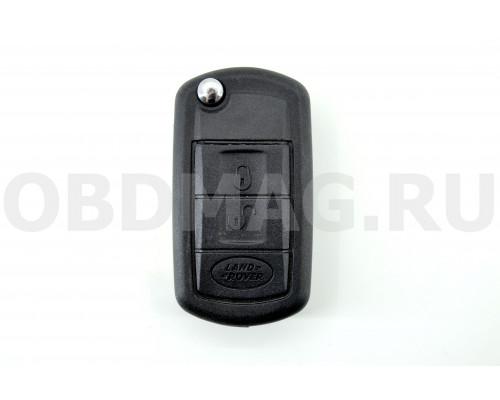 Ключ выкидной Land Rover HU92 3 кнопки