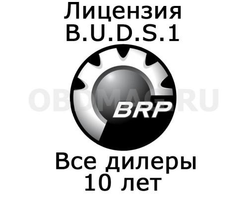 """Лицензия BUDS 1 """"Все дилеры"""" 10 лет"""