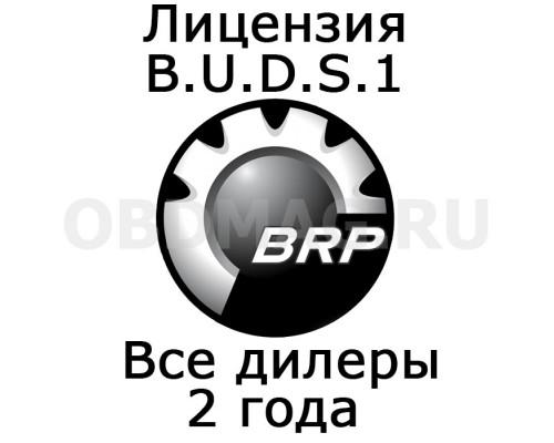 "Лицензия BUDS 1 ""Все дилеры"" 2 года"