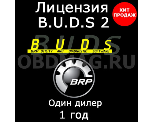 "Лицензия BUDS 2 ""Dealer Technician"" 1 год"