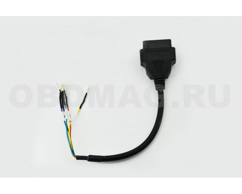 Универсальный кабель K + CAN со свободной распиновкой