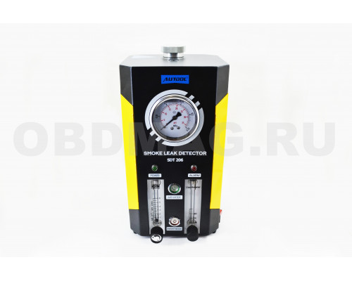 Дымогенератор Autool SDT 206 со встроенным компрессором и манометром