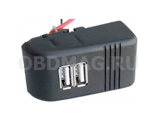 АПЭЛ USB зарядное устройство для комбинации приборов LADA 2110, 2111, 2112