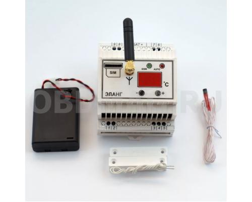 Бытовой регулятор температуры с GSM управлением