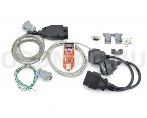 CAN-Hacker 3.2 USB + Опция LIN + OBD2 кабель + Разветвитель OBD2 + CanCoder