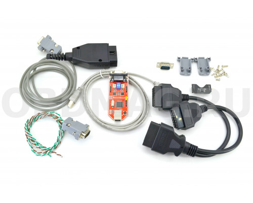 CAN-Hacker 3.2 USB + Опция LIN + OBD2 кабель + Разветвитель OBD2