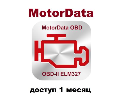 MotorData доступ 1 месяц